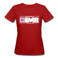 IMB Logo - Women's Organic T-Shirt - dark red