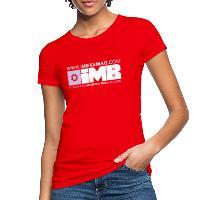 IMB Logo - Women's Organic T-Shirt red