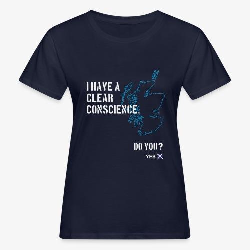 Clear Conscience - Women's Organic T-Shirt