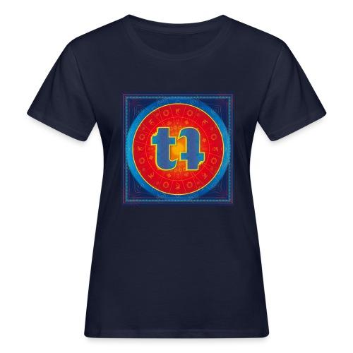 turn turQuoise Logo - Frauen Bio-T-Shirt