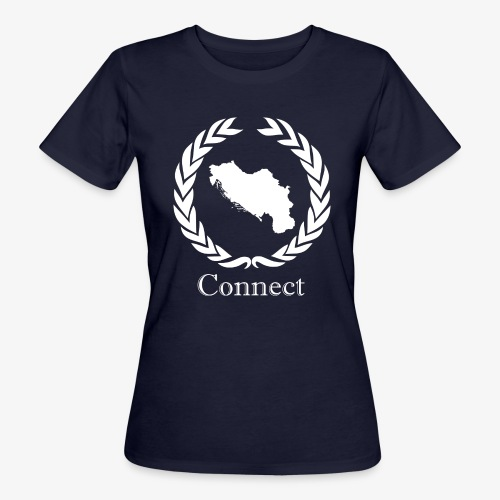 CONNECT COLLECTION LMTD. EDITION WHITE - Women's Organic T-Shirt