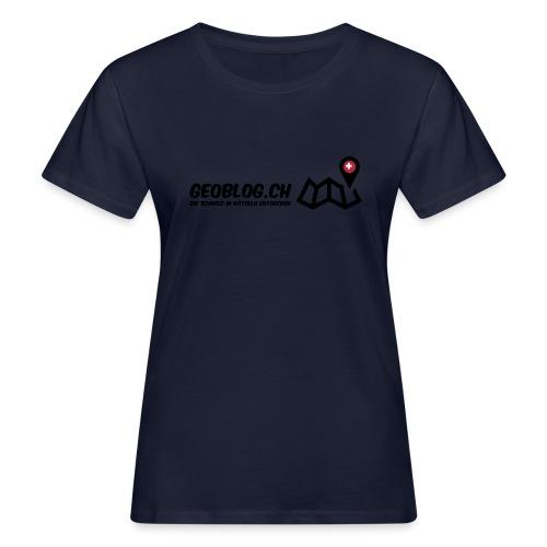 Logo+Schriftzug - Frauen Bio-T-Shirt