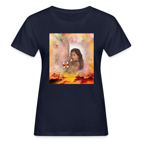 Herbstsinfonie - Frauen Bio-T-Shirt