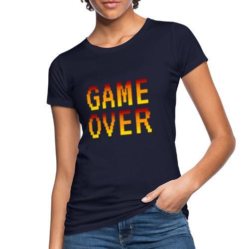 Game Over - T-shirt ecologica da donna