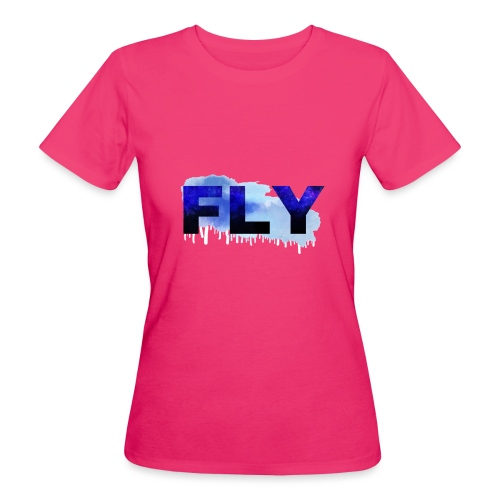 Paint Fly Design - Women's Organic T-Shirt