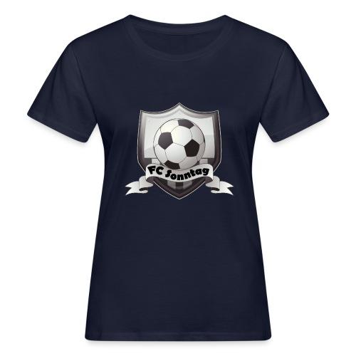 FC Sonntag Logo - Frauen Bio-T-Shirt