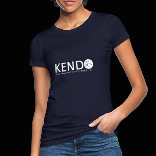 Finnish Kendo Team Text - Naisten luonnonmukainen t-paita