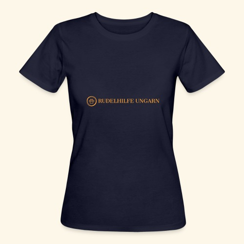 Rudelhilfe Logo - Frauen Bio-T-Shirt