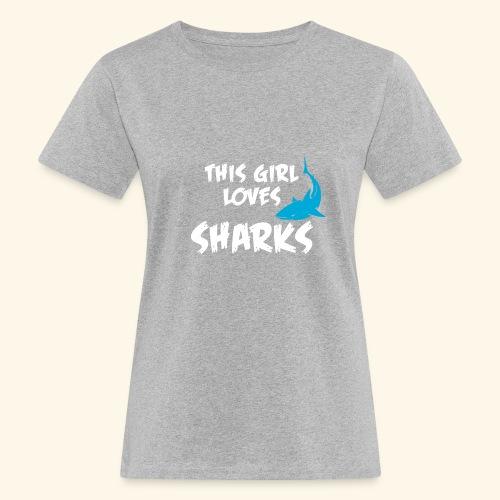 Hai Frauen T-Shirt Englisch - Frauen Bio-T-Shirt