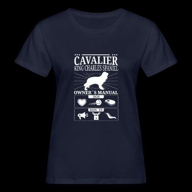 Cavalier King Charles Spaniel gave - Økologisk T-skjorte for kvinner