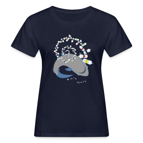 VISTA MARE (SQUALO) - T-shirt ecologica da donna