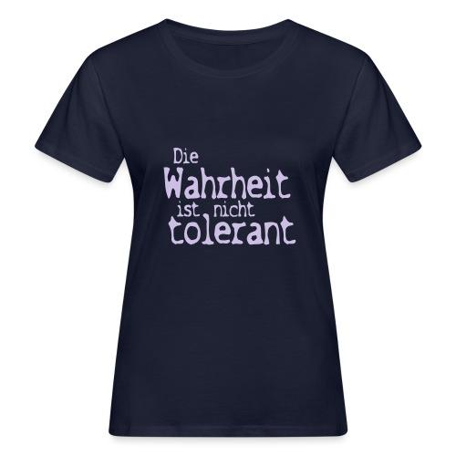 tolerant (JESUS-shirts) - Frauen Bio-T-Shirt