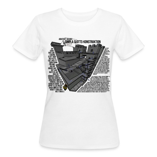 Jacobs Slott - Ekologisk T-shirt dam
