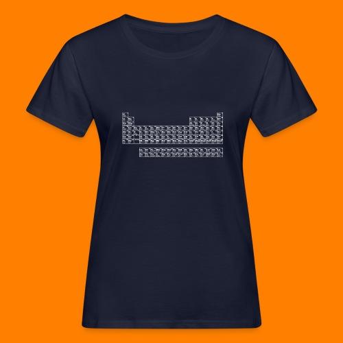 periodic white - Women's Organic T-Shirt