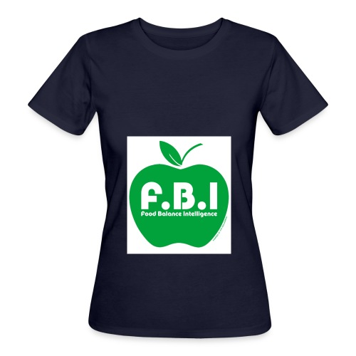 F.B.I - Food Balance Intelligence Logo - Frauen Bio-T-Shirt