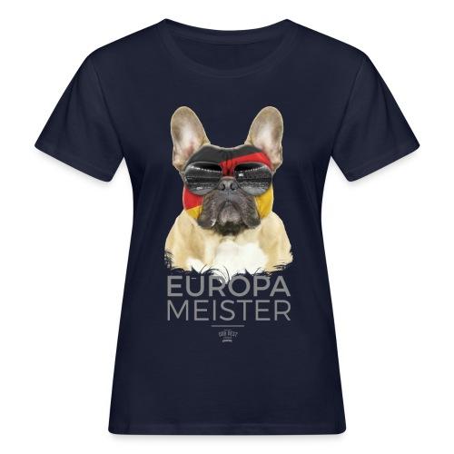 Europameister Deutschland - Frauen Bio-T-Shirt