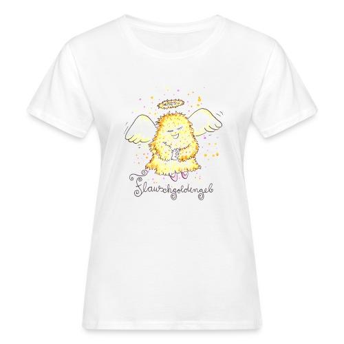 Flauschgoldengel - Frauen Bio-T-Shirt