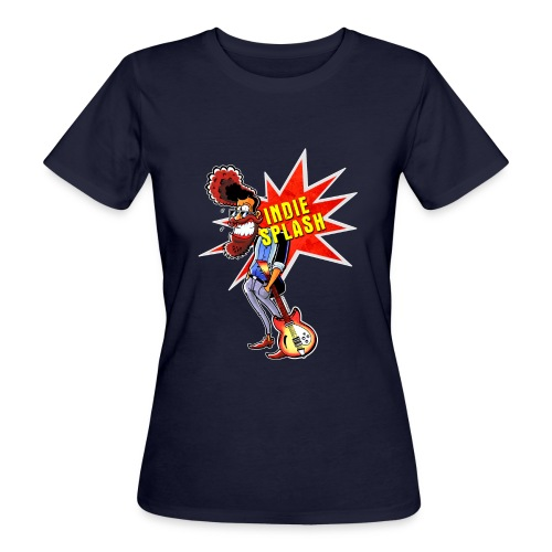 Indie Splash - Frauen Bio-T-Shirt