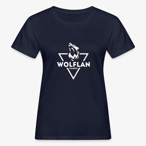WolfLAN Logo White - Women's Organic T-Shirt