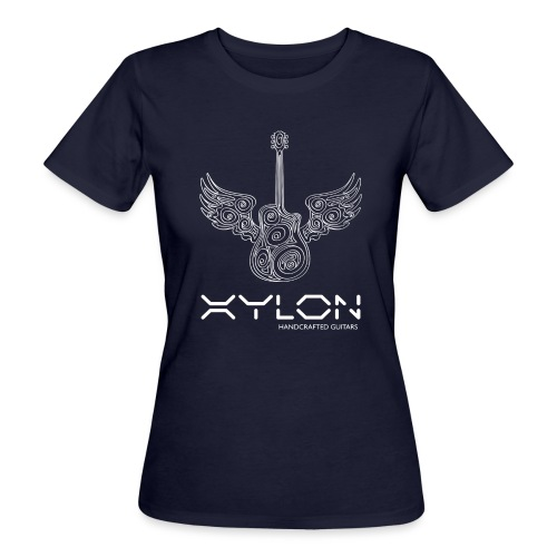 Xylon Guitars Premium T-shirt (white design) - Women's Organic T-Shirt