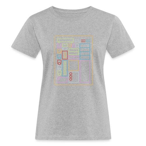 Dnd-merkkilehti - DnD Dungeons & Dragons D & D - Naisten luonnonmukainen t-paita