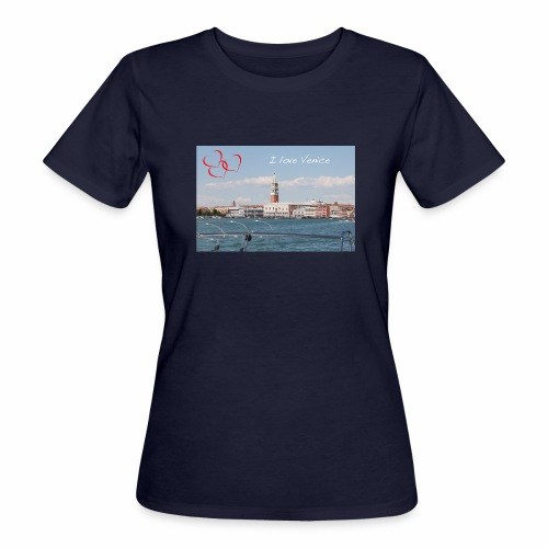 I love Venice - Frauen Bio-T-Shirt