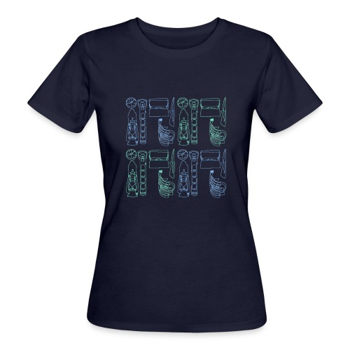 Varusteneliöhuppari - Naisten luonnonmukainen t-paita