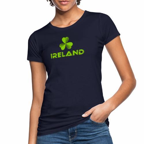 Supporting Ireland Shamrock - Women's Organic T-Shirt