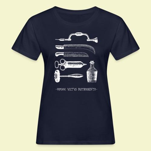 Humani Victus Instrumentia - White - T-shirt ecologica da donna