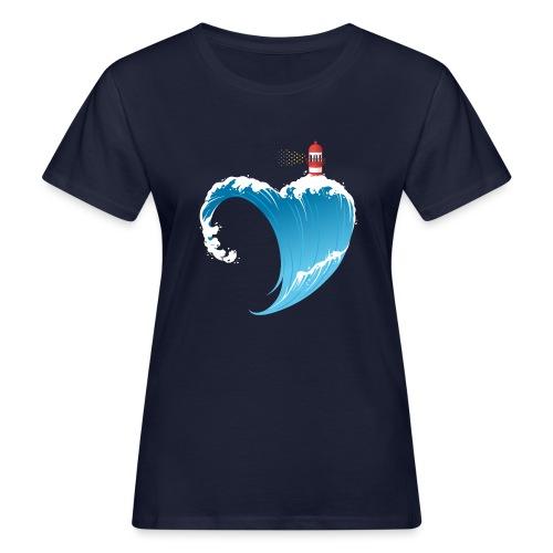 Ostseeherz - Frauen Bio-T-Shirt