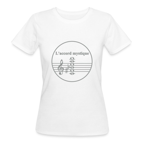 Scriabin L accord mystique - Frauen Bio-T-Shirt