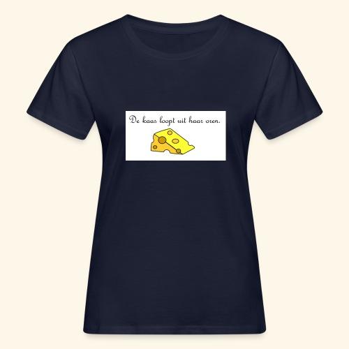 Kaas loopt uit haar oren - Temptation - Vrouwen Bio-T-shirt