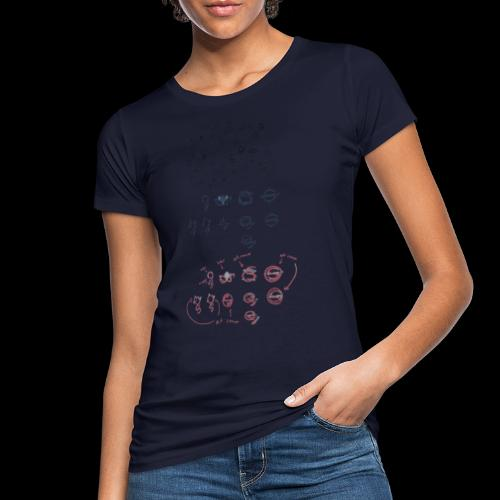 Overscoped concept logos - Women's Organic T-Shirt