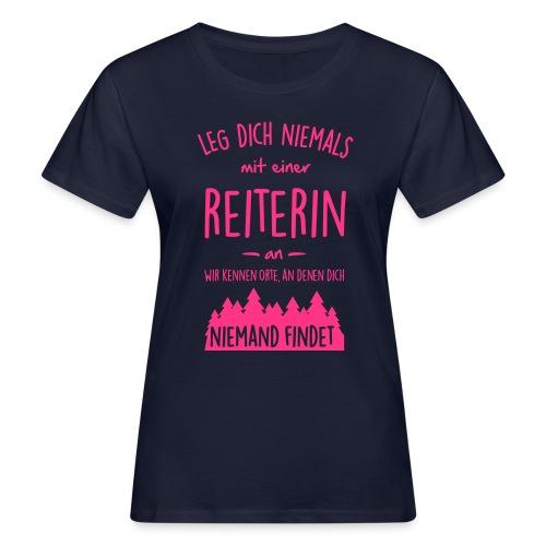 Vorschau: Reiterin - Frauen Bio-T-Shirt