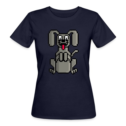 PerroPixelArt - Camiseta ecológica mujer