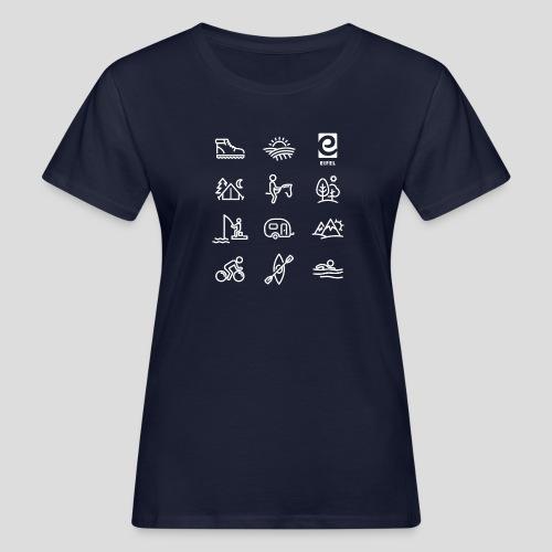 Eifel - Freizeit - weiß - Frauen Bio-T-Shirt