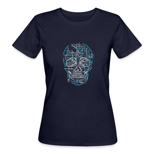 electric skull tshirt ✅ - Frauen Bio-T-Shirt