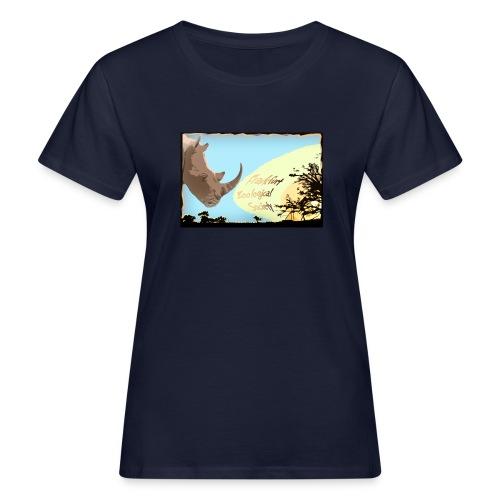 Rhino T-Shirt - Frauen Bio-T-Shirt