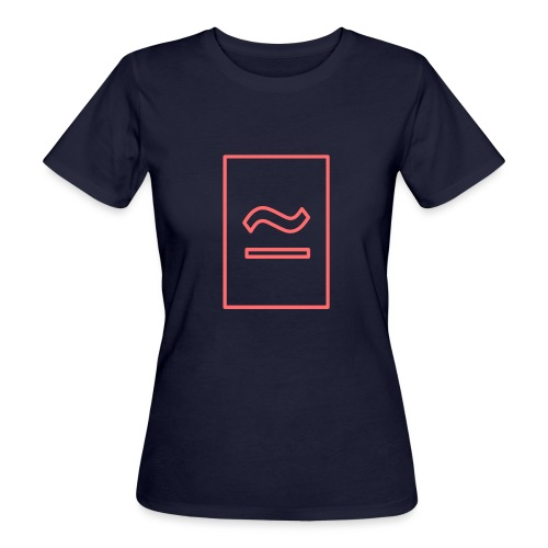 The Commercial Logo (Salmon Outline) - Women's Organic T-Shirt