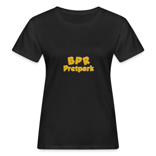 BPR Pretpark logo - Vrouwen Bio-T-shirt