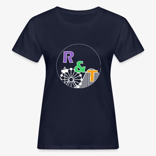 *Limited Edition* Robin & Thomas Merch Wit - Vrouwen Bio-T-shirt