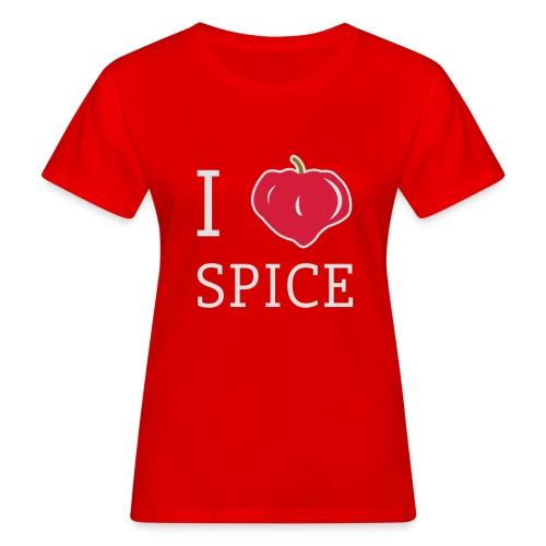 i_love_spice-eps - Naisten luonnonmukainen t-paita