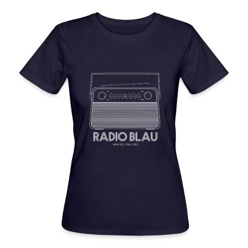 Retro Radio - Frauen Bio-T-Shirt