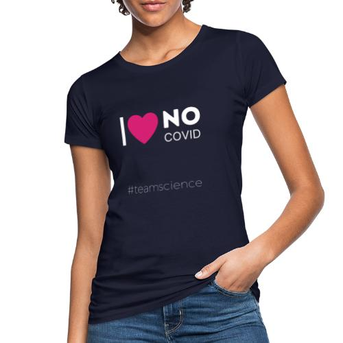 Weisse Schrift II - Frauen Bio-T-Shirt