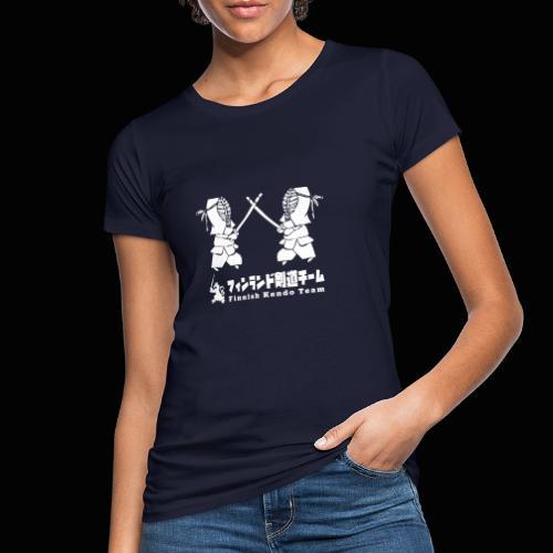 fka team logo white - Naisten luonnonmukainen t-paita