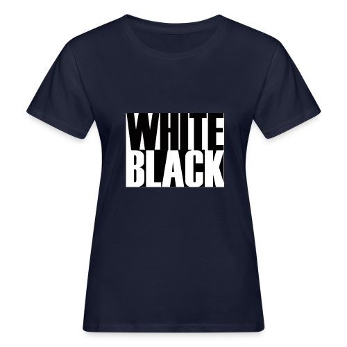 White, Black T-shirt - Vrouwen Bio-T-shirt