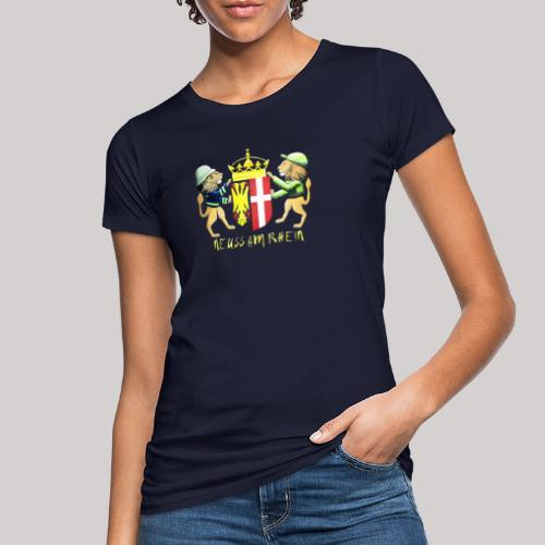 Neuss am Rhein - Frauen Bio-T-Shirt