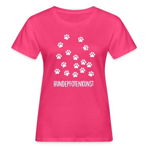 Vorschau: Hundepfotenkunst - Frauen Bio-T-Shirt