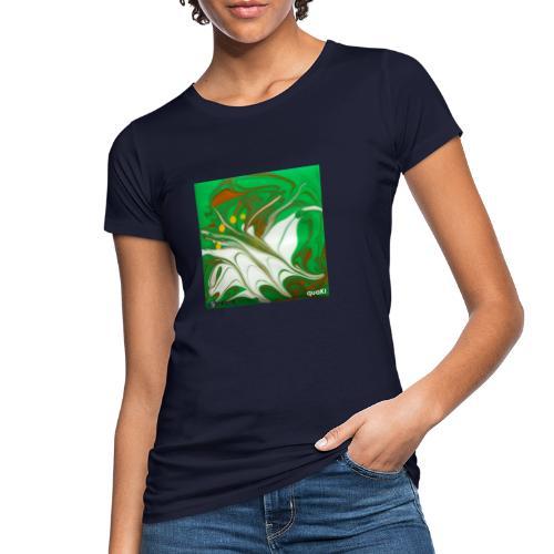TIAN GREEN Mosaik CG002 - quaKI - Frauen Bio-T-Shirt