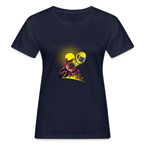 0791 fjr ROOD sun - Vrouwen Bio-T-shirt